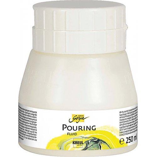 Pouring fluid akrylové médium SOLO GOYA 250 ml