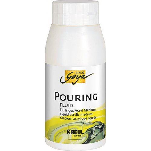 Pouring fluid akrylové médium SOLO GOYA 750 ml