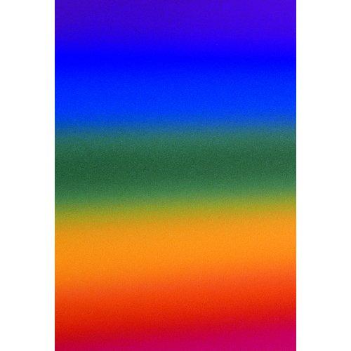Kreativní papír  DUHOVÝ , 20 listů 200 g/m2  35 x 50 cm