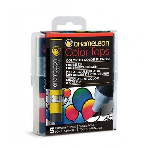 Set Chameleon Color Tops, 5ks - základní tóny