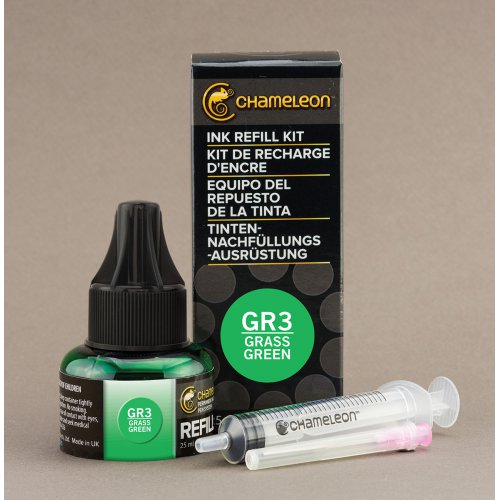 Chameleon inkoustová náplň, 25ml - Grass Green