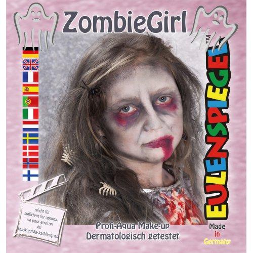 Sada barev na obličej - zombie holka