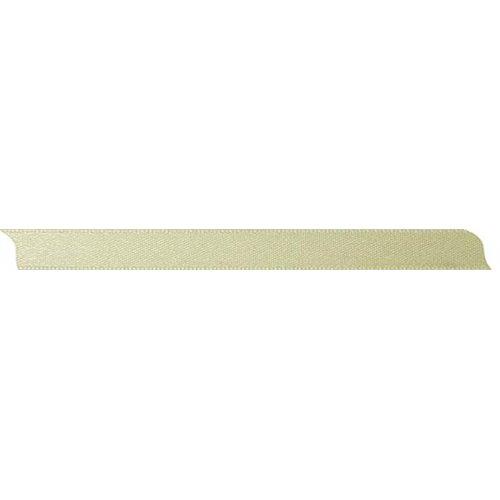 Saténová stuha oboustranná BÉŽOVÁ šířka 10 mm - 10 m v roli