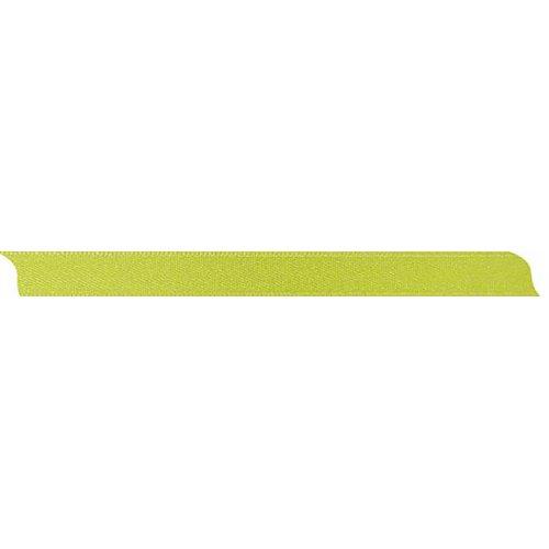 Saténová stuha oboustranná SVĚTLE ZELENÁ šířka 10 mm - 10 m v roli