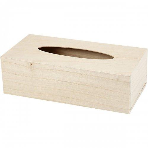 Krabice na kapesníčky k dotvoření 27x14x8 cm