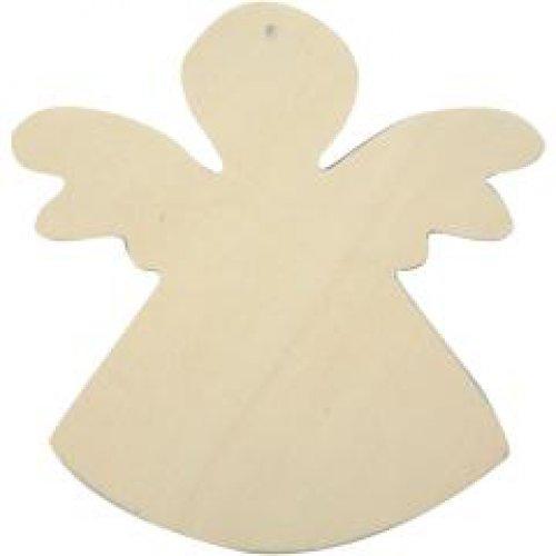 Anděl na zavěšení k dotvoření 12 x 11 cm, 6 ks v balení - CC566310.jpg