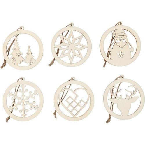 Vánoční ornamenty k dotvoření, průměr 8 cm, 6 ks v balení - CC568080_a.jpg