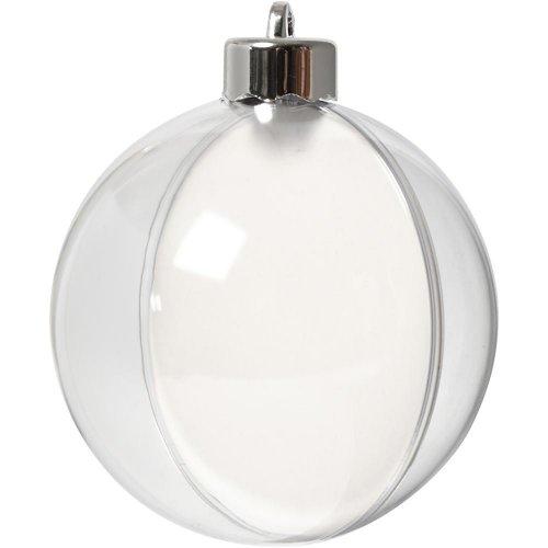 Plastová baňka k dotvoření, průměr 8 cm, transparentní, 5 ks - CC52141.jpg