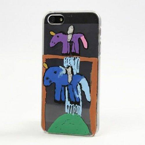 Obal na mobil iPhone 5/5S z tvrdého plastu k dotvoření, 6 x 12,5 cm, tl. 10 mm, transparentní - CC41389_image1.jpg