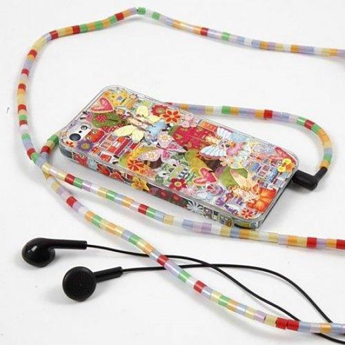 Obal na mobil iPhone 5/5S z tvrdého plastu k dotvoření, 6 x 12,5 cm, tl. 10 mm, transparentní - CC41389_image2.jpg