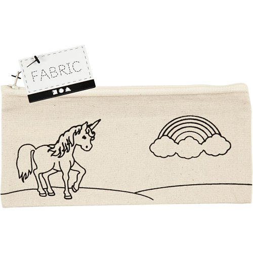 Pouzdro na tužky motiv JEDNOROŽEC textil, 21 x 9 cm - CC499662_a.jpg