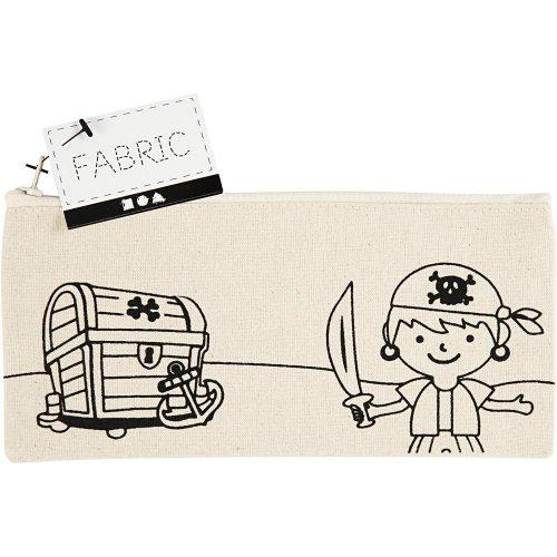 Pouzdro na tužky motiv PIRÁTI textil, 21 x 9 cm - CC499661_a.jpg