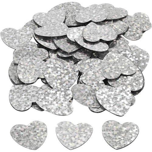 Flitry stříbrné, 16 mm, srdce, 10 g - CC589018_a.jpg