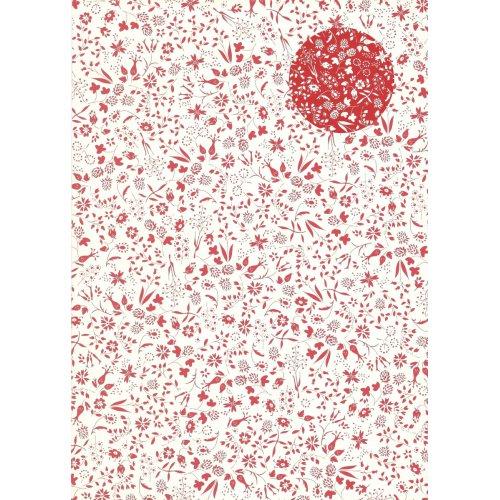Kreativní papír skládací  VENKOVSKÉ KVĚTY, 15 x 15 cm 60 listů 80 g/m2 v bloku