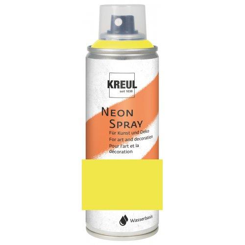 KREUL Fluorescenční Sprej matný 200 ml NEONOVÁ ŽLUTÁ