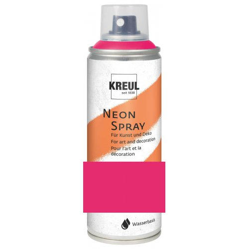 KREUL Fluorescenční Sprej matný 200 ml NEONOVÁ RŮŽOVÁ