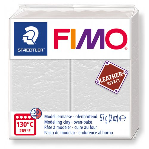 FIMO LEATHER efekt SLONOVINOVÁ