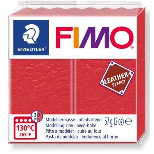 FIMO LEATHER efekt VODNÍ MELOUN