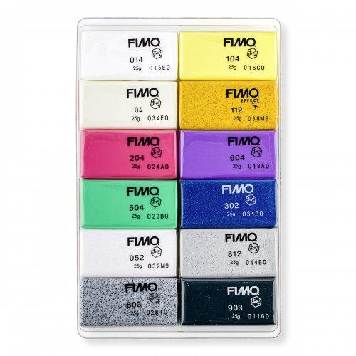 FIMO Efekt sada 12 barev 25 g - 8013_C12-1_obsah.png