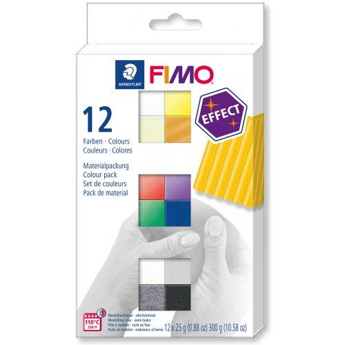 FIMO Efekt sada 12 barev 25 g