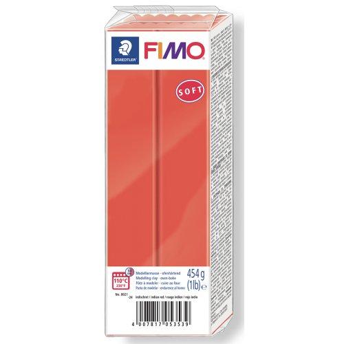 FIMO soft ČERVENÁ 454 g blok