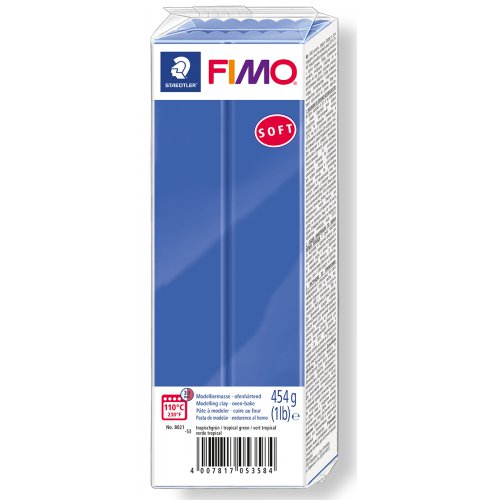 FIMO soft TMAVĚ MODRÁ 454 g blok