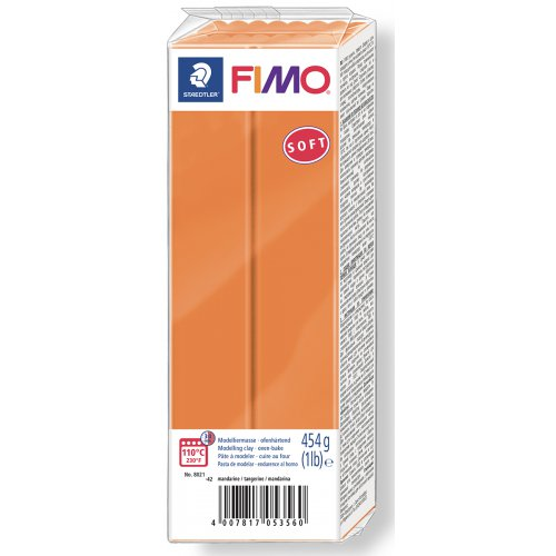 FIMO soft ORANŽOVÁ 454 g blok