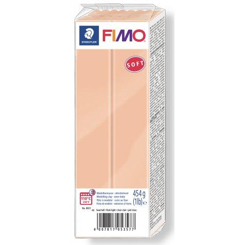 FIMO soft TĚLOVÁ 454 g blok