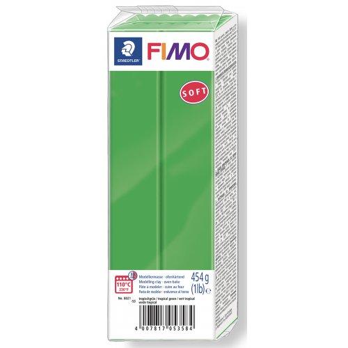 FIMO soft ZELENÁ 454 g blok