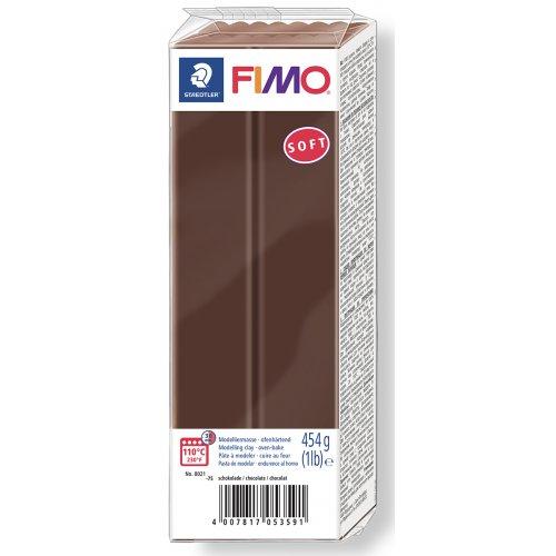 FIMO soft ČOKOLÁDOVÁ 454 g blok