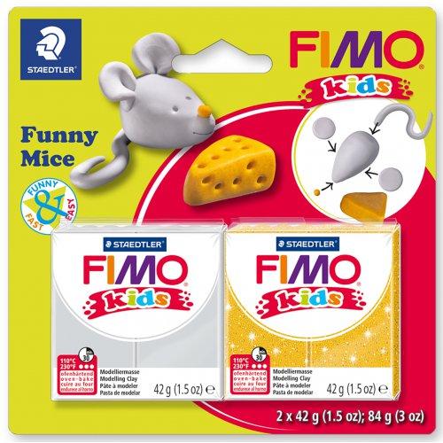 Sada FIMO kids Funny MYŠKA