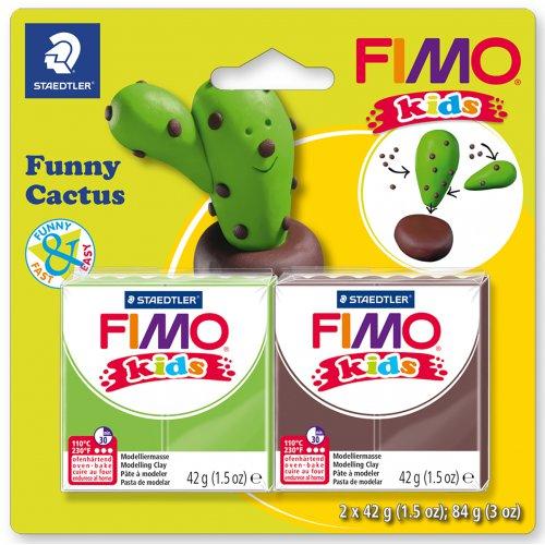 Sada FIMO kids Funny KAKTUS