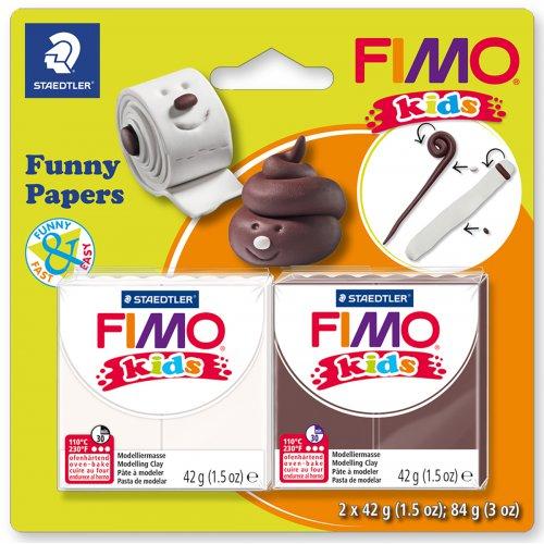 Sada FIMO kids Funny PAPÍR