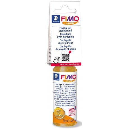 FIMO LIQUID Deco gel ZLATÝ 50 ml