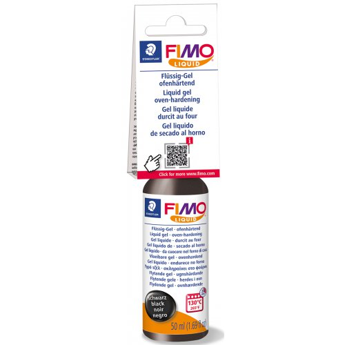FIMO LIQUID Deco gel ČERNÝ 50 ml