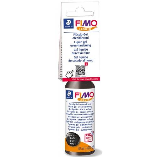 FIMO LIQUID Deco gel ČERNÝ 50 ml