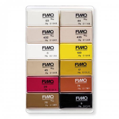 FIMO professional sada 12 barev 25 g DOLL ART - 8073_C12-1_obsah.png
