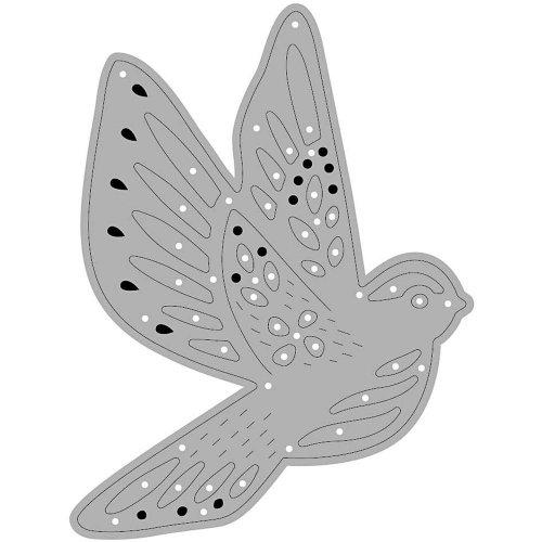 Vysekávací a reliéfní šablona - motiv PTÁK - CC11788_b.jpg