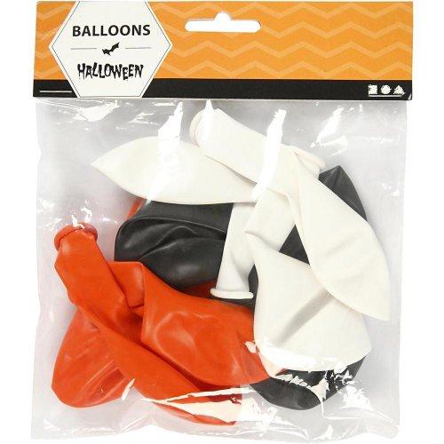 Balonky, bílý, oranžový, černý, - CC591470_a.jpg