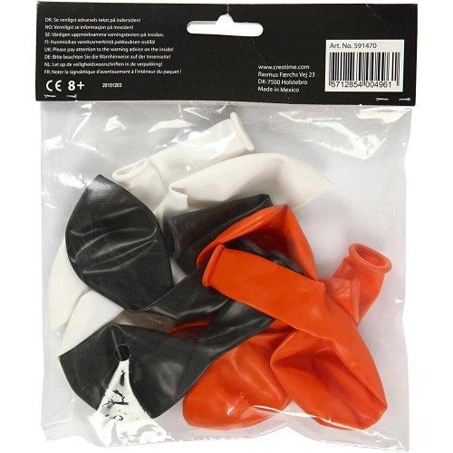 Balonky, bílý, oranžový, černý, - CC591470_b.jpg