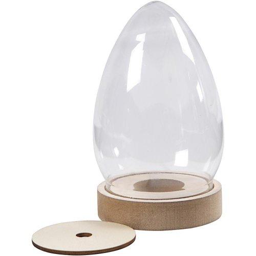 Plastový kryt ve tvaru vejce