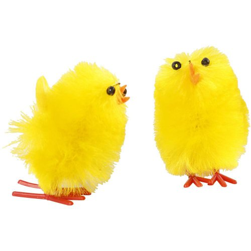 Velikonoční kuřátka žlutá