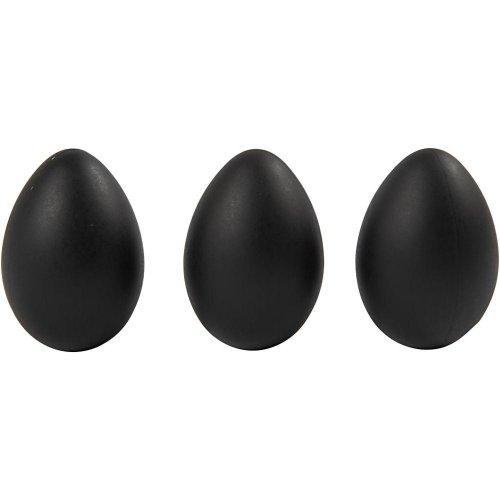 Černá plastiková vejce - 12 ks v balení - CC51025_c.jpg