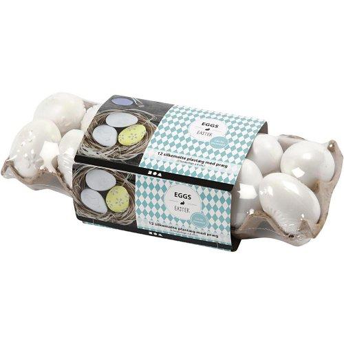 Vajíčka bílá se vzory - 12 ks v balení - CC51026_b.jpg