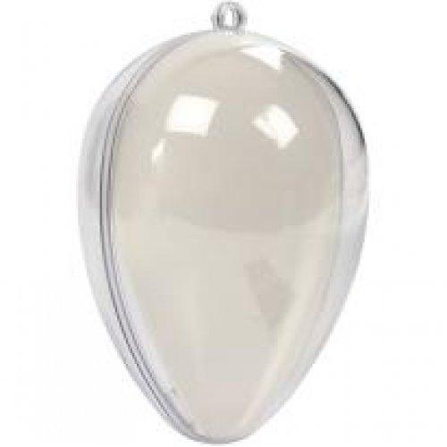 Plastová průhledná vajíčka pro zdobení, výška 9 cm, 5 ks - CC52146_a.jpg