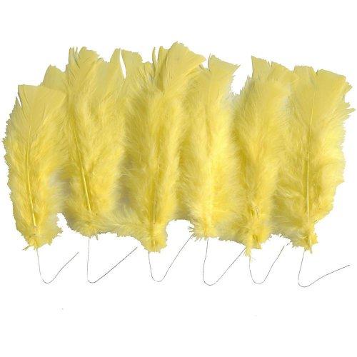 Krůtí peří žluté