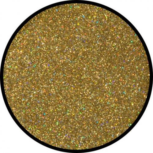 Třpytky 6 g - Zlatá holografická jemná