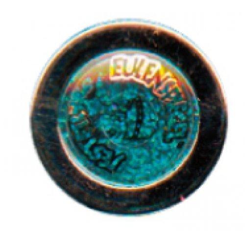 Tetovací třpytky 2 g  - Zelená holografická