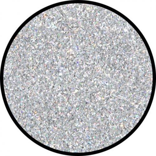 Třpytky 2 g - Stříbrná holografická - jemná
