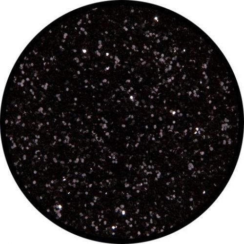 Třpytky 2 g - Noční černá